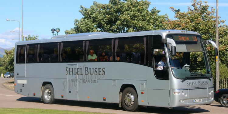 K77 SBL Shiel Buses operating