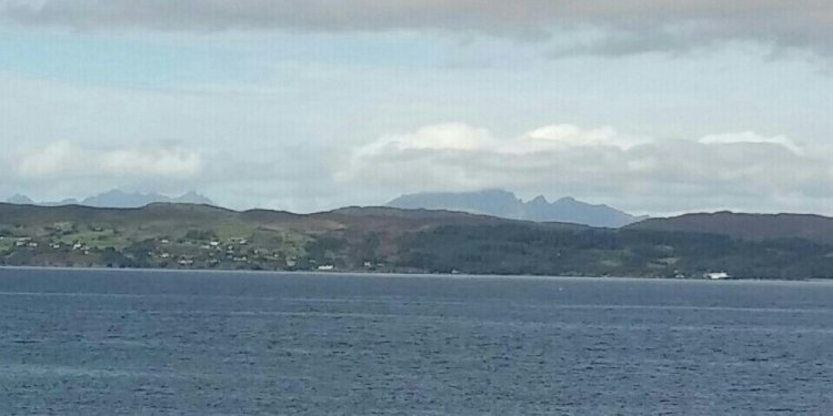 Sunny over here in Mallaig