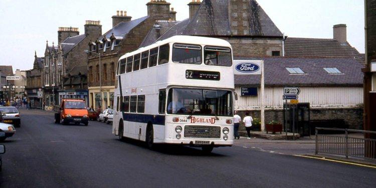 Highland Scottish was still