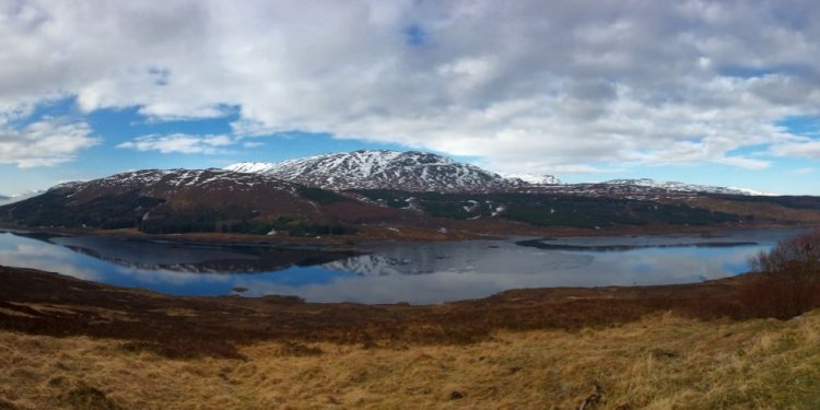 On the drive from Fort William