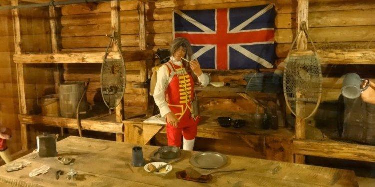 Fort William Henry interior