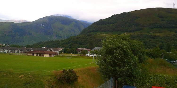 View from Premier Inn Fort