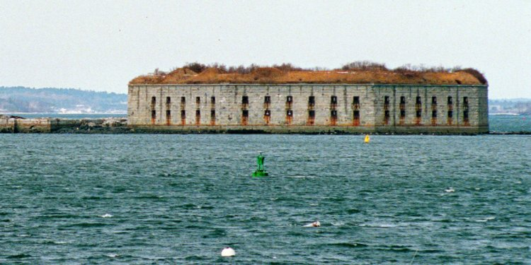 Fort Gorges, built during the