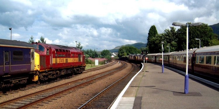 Sleepers to Fort William