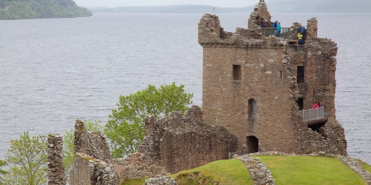 Urquhart Castle In Inverness