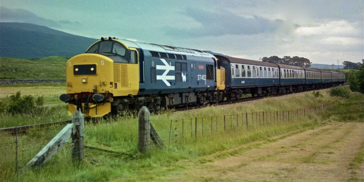 Train scotland highlands