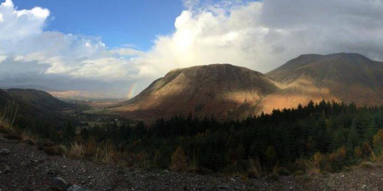 West highland way walking fort