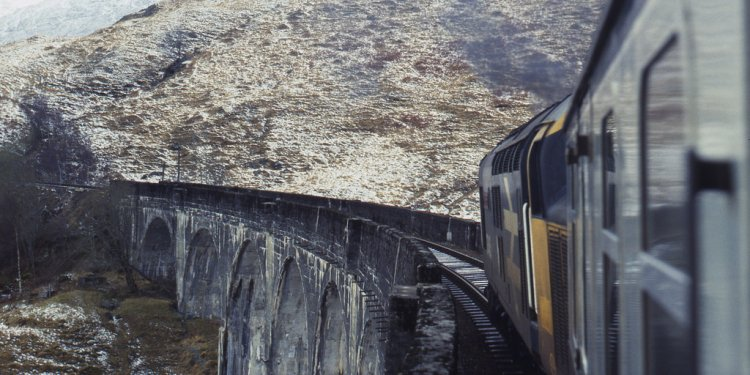 Fort William Highland to Mallaig railway Line