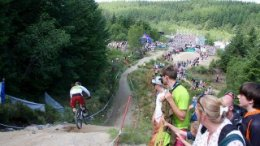 Fort William Mountain bicycle World Cup Voted Best in the World