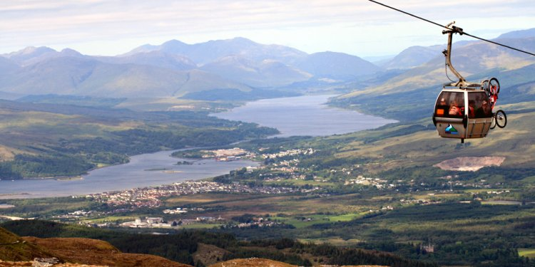 Fort William Scotland cable car