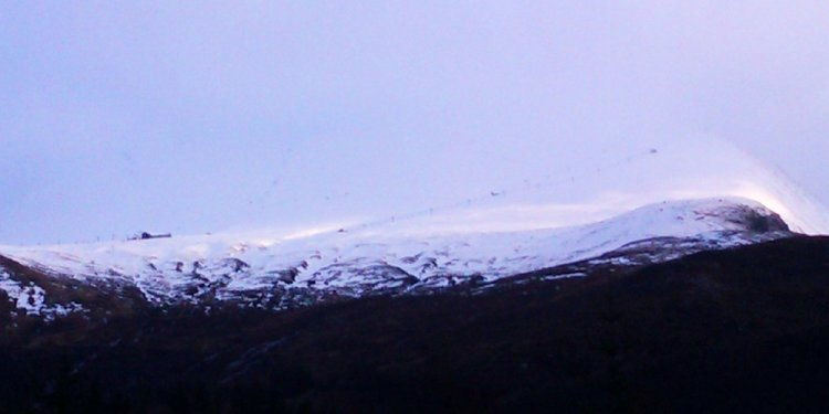 Fort William Highlands ski