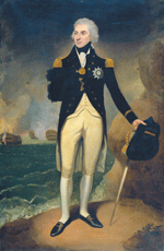 Portrait of Admiral Lord Horatio Nelson