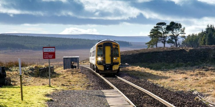 Glasgow to Fort William Highland train route