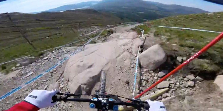 Fort William Highlands DH track