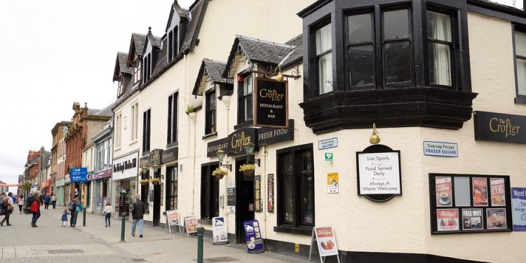 Nevis Bank Hotel Fort William Scotland